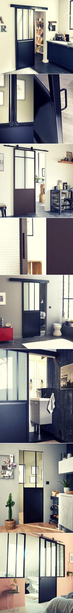 Où Trouver Une Porte Coulissante Atelier Style Verrière ?