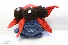 Pokemon Gloom Amigurumi by adorablykawaii