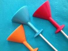 Cocktail Chocolate Lollipops are Perfect for a Girls' Night Out - Foodista.com