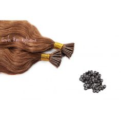 .5G 50S BODY WAVE STICK TIP / I TIP PURE REMY HAIR EXTENSIONS 25G