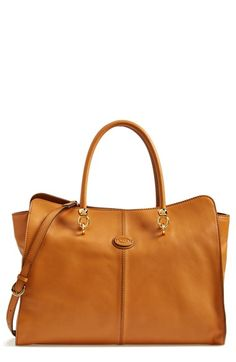 Tod's 'Sella' Leather Shopper available at #Nordstrom