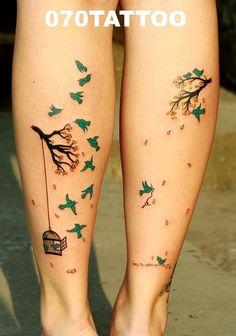 I love love bird tatoos