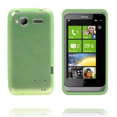 TPU Shell Transparent (Grønn) HTC Radar Deksel