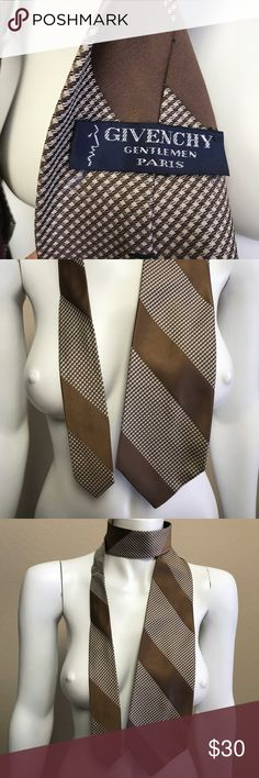 Vintage Givenchy men's tie 👔 Good vintage condition. It's vintage so has a wider look. Givenchy Accessories Ties