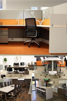Modern Office Furniture Great For Someone Looking For Ideas. This Install  Has Modern Office Cubicles