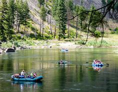 Rafting on Idaho's Salmon River is a fun off-the-beaten-path summer trip and a fascinating look at the history of this scenic river.
