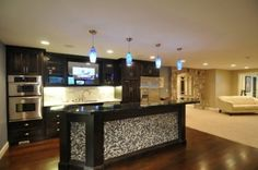 47 Awesome Masculine Kitchen Designs | DigsDigs Kitchen for bachelor men