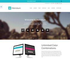 Metrolium - Responsive Multi-Purpose WP Theme
