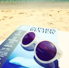 Sun, shades, and some great literature. #ReadEverywhere