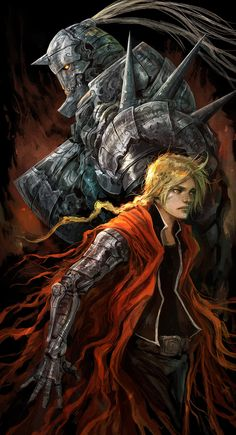 The Elric Brothers, Alexandre Chaudret on ArtStation at https://www.artstation.com/artwork/the-eldric-s-brothers