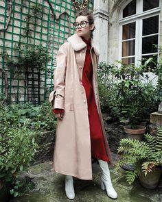DROMe coat featured on IDOL Magazine