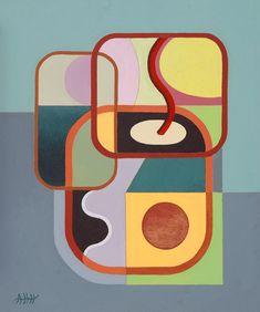 Pintura abstracta, Ángel Hernández, Mallorca.
