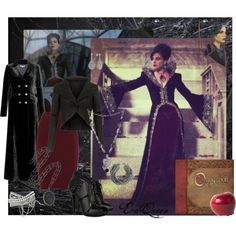 """""""Evil Queen - The Heart is a Lonely Hunter"""" by tiffycuss on Polyvore"""
