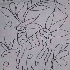 Photos tagged with Embroidery Patterns Free, Embroidery Applique, Floral Embroidery, Embroidery Stitches, Quilt Patterns, Embroidery Designs, Mexican Textiles, Mexican Embroidery, Kantha Stitch