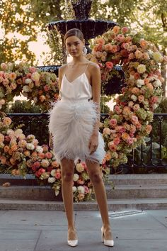 Lela Rose showed her latest wedding dresses during Bridal Fashion Week. See the latest wedding dresses from Lela Rose. Lela Rose Wedding Dresses, Wedding Gowns, Wedding Mandap, Wedding Hijab, Wedding Stage, Wedding Receptions, Wedding Cakes, Bridal Collection, Dress Collection