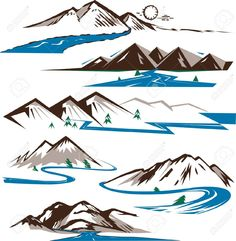 river vector - Google Search