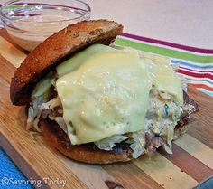 Rueben Sandwiches....LOVE these sandwiches