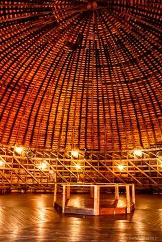 https://flic.kr/p/N66kPb | upper floor of Arcadia round barn
