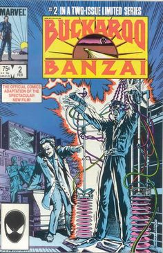Drive-In Theater Of The Mind, browsethestacks: Buckaroo Banzai / Marvel Super...