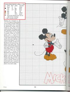 Mickey Collection~pg 52 Four Pose Mickey 1