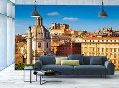 3D Trevi Fountain Rome Ita Full Wall Mural Photo Wallpaper Print Paper Home Deco