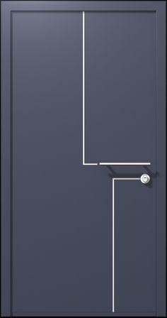 דלת סיינה, דלתות כניסה בסגנון אורבני- רשפים