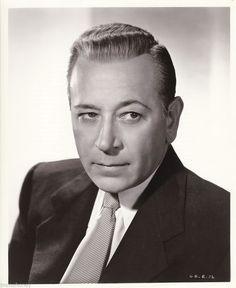 GEORGE RAFT Original Vintage ERNST BACHRACH RKO Stamped Film Noir Portrait Photo | eBay