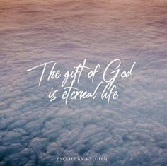 For the wages of sin is death but the gift of God is eternal life in Christ Jesus our Lord. - Romans 6:23 NIV #SundayVibes