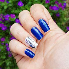 "Páči sa mi to: 21, komentáre: 1 – Domi Králiková (@domi_nailart) na Instagrame: ""Water marble surprise #watermarble #nailart #nails2inspire #nailstagram #nailartideas #nailartwow…"""
