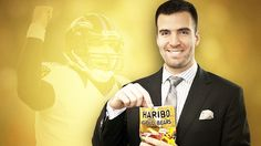 Joe Flacco, Haribo Gold Bears