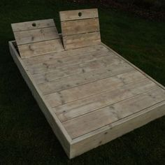 Backyard Projects, Outdoor Projects, Backyard Patio, Wood Projects, Outdoor Living Furniture, Deck Furniture, Terrazas Chill Out, Outdoor Seating, Outdoor Decor
