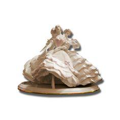 porcelana alemana Rosenthal. Figura de tres damas