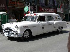 1954 Packard Ambulance.