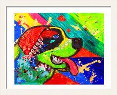 #StBernardDog #PopArtPainting #AnimalPrint #InstantDownload #KidsRoomArt #WallArtDecor #WatercolorDogArt #AnimalArt #DogPainting by #JuliaApostolova
