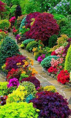 35 Simple DIY Backyard Landscaping on a Budget Landscaping . - Jewelry 35 Simple DIY Backyard Landscaping on a Budget Landscaping . Amazing Gardens, Beautiful Gardens, Beautiful Life, The Secret Garden, Front Yard Landscaping, Backyard Patio, Landscaping Tips, Courtyard Landscaping, Inexpensive Landscaping