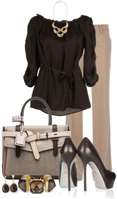 """""""Miss Sixty Blouse"""" by averbeek ❤ liked on Polyvore"""