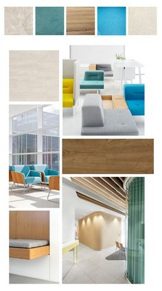 Comfort and Care: A Healthy Approach to Hospital Interior Design (Bonus: Mood Boards) | #LuxuryVinyl
