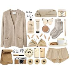 Sometimes, I Need Lazy Days., created by fashionispurebliss on Polyvore