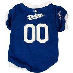 Los Angeles Dodgers Dog Jersey - Large