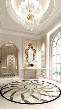 Architecture Luxury Interiors | RosamariaGFrangini || Luxury hall