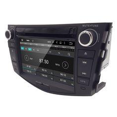 "7"" 1024*600 2 Din Car GPS Navigation for Toyota RAV4 Android 5.1 Autoradio DVD Quad Core DVB-T Audio Radio 3G Tape Recorder"