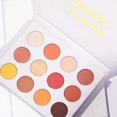 Yes, Please! By colourpop! Absolutely love the colors and that yellow!