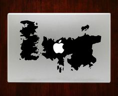 Game of throne Map Macbook Decal Stickers