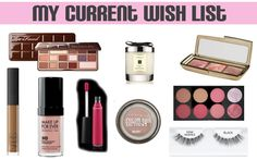 My Current Beauty Wish List feat Too Faced, Maybelline, Jo Malone, Makeup Revolution etc