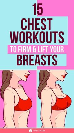 Your source of health and fitness tips, workout routines and a healthy lifestyle advice. Chest Workout Women, Best Chest Workout, Fitness Workout For Women, Chest Workouts, Health And Fitness Tips, At Home Workouts, Health And Wellness, Womens Chest Exercises, Bike Workouts