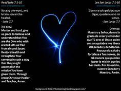Trusting God's authority  +  Confiando en la autoridad de Dios  +  http://www.biblegateway.com/passage/?search=Luke%207:1-10