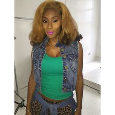 #BeautyByNWA  @GlamByGinger #MakeUp #EyebrowsOnFleek Lipstick called Hoe by Rihanna