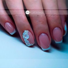 Gorgeous French Nail Designs 10
