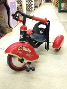 Awesome Mickey Mouse tricycle