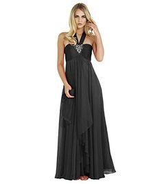 Vivebridal Women's Long Chiffon Halter Backless Evening Party Dress Bridesmaid Dress Black 6 Vivebridal http://www.amazon.com/dp/B012FW517W/ref=cm_sw_r_pi_dp_zd1Svb0476BQ7